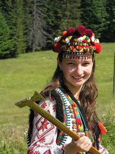 Hutsul outfit, Ukraine, from Iryna with love