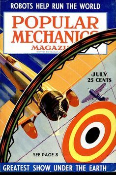 Popular Mechanics magazine - - Yahoo Image Search Results Magazine Images, Popular Mechanics, Vintage Books, Image Search, The Past, Magazines, Journals, Old Books