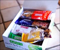 Taste of Nature organic, vegan, gluten-free, non-GMO healthy snack bar review by Calm Mind Busy Body.