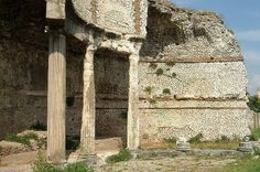 Temple of Fortuna Primigenia - Palestrina, Italy.