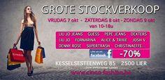Stockverkoop Cinco! -- Lier -- 07/10-09/10