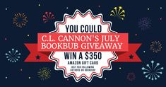 C.L. Cannon's July BookBub Giveaway! http://clcannon.net/2018/07/13/c-l-cannons-july-bookbub-giveaway/