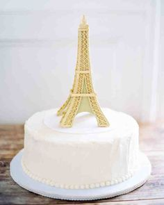 Groom's Cake Ideas: They'll Always Have Paris