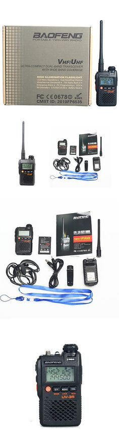 Walkie Talkies Two-Way Radios: New Baofeng Uv-3R 136-174/400-470 Mhz Dual-Band Ham Radio Transceiver Black -> BUY IT NOW ONLY: $30.99 on eBay!