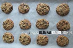 Slice & Bake Oatmeal Raisin Cookies // shutterbean