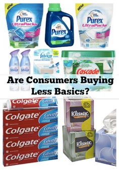 Are Consumers Buying Less Basics by Hip2Save