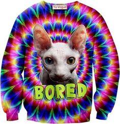 Bored 3D sweatshirt top / Jumper / Hoodie