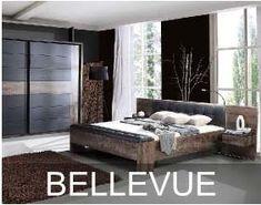 Kolekcja Bellevue to zestaw praktycznych a jednocześnie bardzo eleganckich mebli przeznaczonych do sypialni. Meble z tej kolekcji posiadają solidną, masywną budowę i ciekawe, dwukolorowe wybarwienie. Zrobiono je bowiem w bardzo dekoracyjnym dekorze dąb szlachetny i wykończono wstawkami w kolorze dąb czarny. Outdoor Furniture, Outdoor Decor, Bed, Home Decor, Decoration Home, Stream Bed, Room Decor, Beds, Home Interior Design