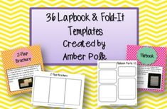36 Editable Lapbook and Fold-It Templates Classroom Inspiration, Classroom Ideas, Classroom Design, Teaching Reading, Teaching Ideas, Teaching Resources, Lap Book Templates, 1st Grade Math, Grade 3