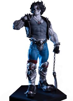 Lobo Statue | DC Comics Statue | Popcultcha