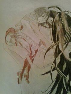 Ataque de los titanes. Eren y Mikasa. Siempre seras un hermano para mi. Te quiero.