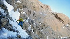 Chantel Astorga climbing the Denali Diamond headwall (Alaska Grade 6, 5.9 A3/M6 A1 WI5+, 7,800') on Denali (20,237'), Alaska. Between June 15 and 19 2015, Astorga and Jewell Lund completed the first all-female ascent of the route. [Photo] Jewell Lund Read more at http://www.alpinist.com/doc/web15x/newswire-chantel-astorga-jewell-lund-climb-denali-diamond
