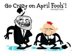 Crazy April Fools Day Cartoons Free Pictures, Images, Pics 2014