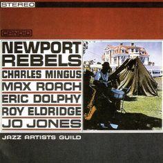 "JAZZ ARTISTS GUILD: "" newport rebels "" ( candid records) personnel: Abbey Lincoln (vocal), Benny Bailey (trumpet), Booker Little (trumpet), Charles Mingus (bass), Eric Dolphy (alto saxophone), Jimmy Knepper (trombone), Jo Jones (drums), Julian Priester (trombone), Kenny Dorham (piano), Peck Morrison (bass), Roy Eldrige (trumpet), Tommy Flanagan (piano) and Walter Benton (tenor saxophone). http://www.qobuz.com/fr-fr/album/newport-rebels-jazz-artists-guild/0708857902224"