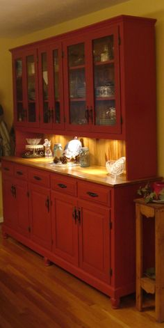 Miraculous Red Kitchen Hutch Coffee Bar Download Free Architecture Designs Jebrpmadebymaigaardcom