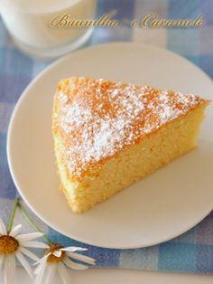 Baunilha e Caramelo: Bolo Chiffon de Limão