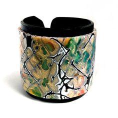Polymer Clay Cuff Bracelet $26.95 #etsy