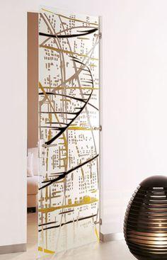 Door Design, Building A House, Wooden Glass Door, Mirror Designs, Door Glass Design, Glass, Glass Design, Interior Design Elements, Doors