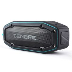 Bluetooth Speakers, ZENBRE D6 Outdoor Bluetooth 4.1 Speakers, 2x5W Portable IPX6 Waterproof Speakers with 18h Play-time (Blue)