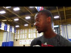 Terrence Ross visits the Raptors Basketball Academy to help wrap up camp. Basketball Academy, Basketball Jersey, Basketball Shoes, Nova Basketball, Air Canada Centre, Baseball Equipment, Raptors, Shoes Online, Events