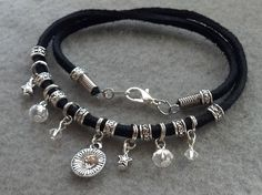 Double Wrap charm Bracelet by StoneLoveJewelryGirl on Etsy, $12.00