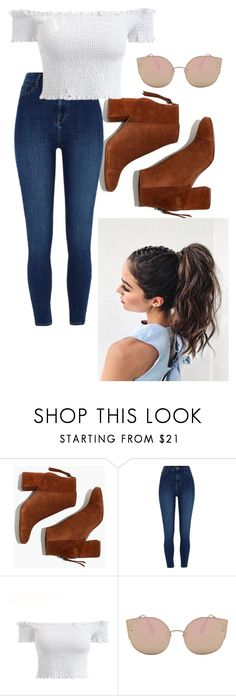 """Spring"" by taylorrogalski on Polyvore featuring Madewell and River Island"