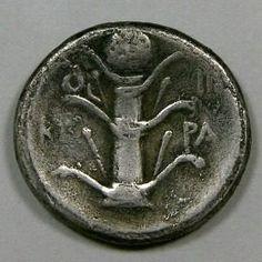 GRÉCIA ANTIGA - CYRENAICA-CYRENE   DIDRACMA