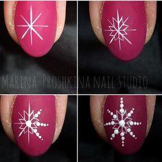 Winter Nails Round Ideas