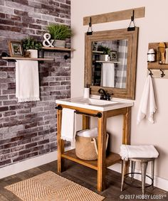 Give your bathroom a bold makeover by incorporating industrial elements!