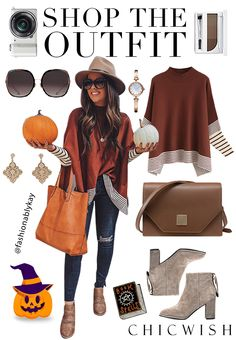 Lie in Caramel Fields Striped Oversize Knit Cape Sweater Outfits Otoño, Classy Outfits, Casual Outfits, Fashion Outfits, Womens Fashion, Fashion Blouses, Fashion Belts, Fashion Watches, High Fashion