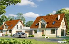 Projekty domów ARCHIPELAG - Kajka G1 Home Fashion, Cabin, Mansions, House Styles, Home Decor, Architecture, Projects, Decoration Home, Manor Houses