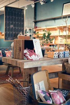 Art Direction, Store Design & Concept - Michelle Smith, Logo - Dapper Paper, Photo - Wit & Whistle