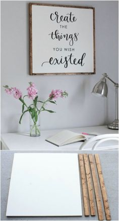 DIY Create Pallet Sign