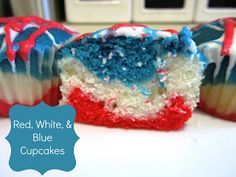 I hope everyone had a wonderful July 4 th ! It was oppressively hot, but I had a grea. Blue Cupcakes, Success And Failure, Red White Blue, 4th Of July, Sisters, Food, Independence Day, Essen, Meals