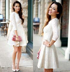 vestido blanco boda por el civil