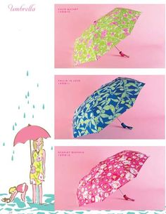 Lilly Pulitzer / Lifeguard Press Umbrella