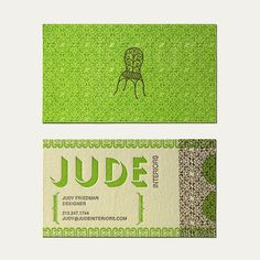 Jude Business Card Design