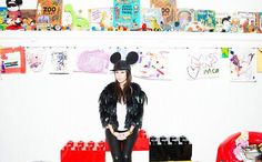 Playroom for kids inspired by kourtney Kardashian