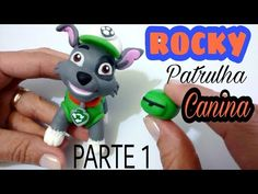 DIY: PAW PATROL (ROCKY) PARTE 1 - COLD PORCELAIN - YouTube