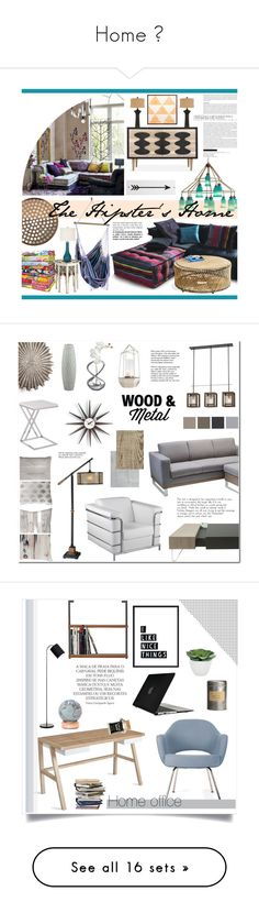 """""""Home 🏠"""" by flo-child ❤ liked on Polyvore featuring interior, interiors, interior design, home, home decor, interior decorating, Universal Lighting and Decor, Canopy Designs, Jonathan Adler and Uttermost"""