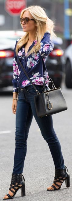 Floral Silk Blouse                                                                                                                                                      More