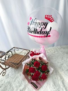 Birthday Flower Delivery, Flower Delivery Service, Online Florist, Helium Balloons, Carnation, Types Of Flowers, Rose Bouquet, Grand Opening, Color Themes