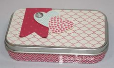 Cute little gift idea using More Amore and Hearts a Flutter -  Stampin' Up!