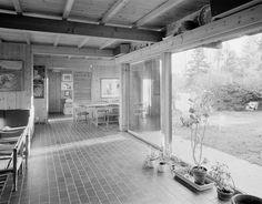 Wenche and Jens Selmer: Own residence, Oslo, 1963