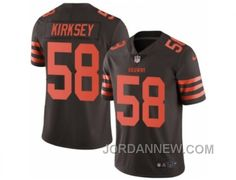 http://www.jordannew.com/mens-nike-cleveland-browns-58-chris-kirksey-limited-brown-rush-nfl-jersey-authentic.html MEN'S NIKE CLEVELAND BROWNS #58 CHRIS KIRKSEY LIMITED BROWN RUSH NFL JERSEY AUTHENTIC Only $23.00 , Free Shipping!