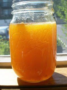 Apricot freezer jam-no pectin-good. Easy, yummy.