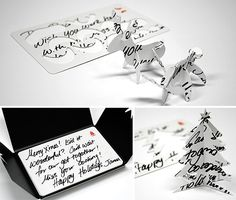 By Andrew Liszewski I realize it's probably a little late in the holiday season to be writing about a clever Christmas card idea, given there's no way they could be…