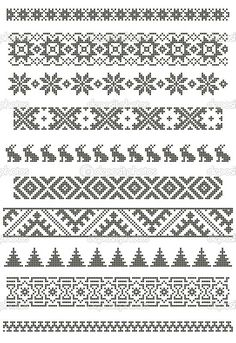 Thrilling Designing Your Own Cross Stitch Embroidery Patterns Ideas. Exhilarating Designing Your Own Cross Stitch Embroidery Patterns Ideas. Fair Isle Knitting Patterns, Fair Isle Pattern, Knitting Charts, Loom Patterns, Knitting Stitches, Loom Knitting, Vogue Knitting, Double Knitting, Knitting Socks