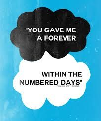 The fault in our stars quote...