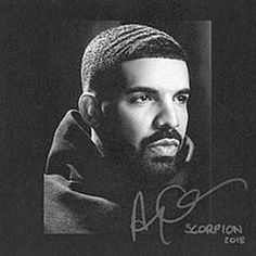 Drake is garnering plenty of headlines with the release of his fifth studio album. Along with the singles God's Plan and I'm Upset, it features appearances from Jay-Z, Ty Dolla Sign, and posthumous vocals from Michael Jackson. Drake Album Cover, Rap Album Covers, Music Covers, Best Album Covers, Box Covers, Rock Posters, Hip Hop, Post Malone, Scorpions Albums